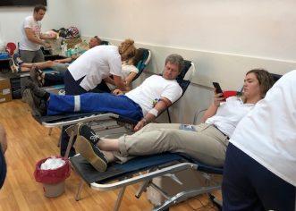 Čak 115 darivatelja krvi odazvalo se na akciju darivanja krvi u petak, 12. srpnja