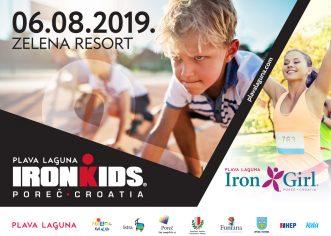 6. kolovoza dvije trkačke utrke Plave Lagune – Iron Girl i IronKids