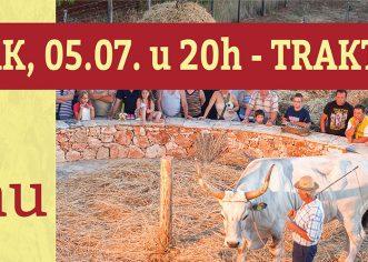 Ovog petka Fešta na gumnu u prostoru Traktor Story nedaleko Jame Baredine