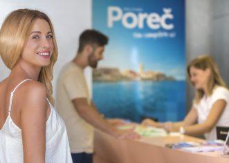Turistička zajednica Grada Poreča objavljuje NATJEČAJ za radno mjesto INFORMATOR/ICA (na određeno vrijeme)