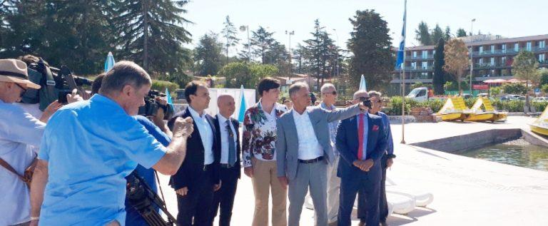 Ministar Cappelli na novouredenoj plazi Spadici Materada