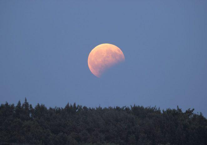 U noći s utorka na srijedu vidljiva djelomična pomrčina Mjeseca