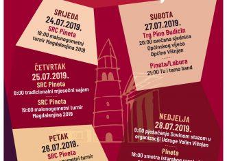 Od četvrtka, 25.7. do nedjelje 28.7. za promet se zatvara dio Višnjana