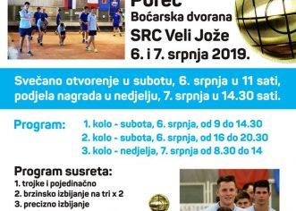 Boćarski turnir Alpe – Jadran održati će se predstojećeg vikenda u Poreču