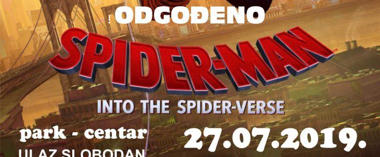 plakat spiderman 2019