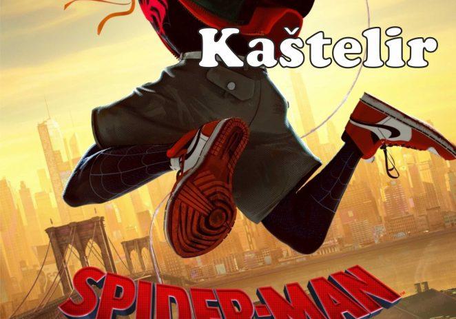 """Ove subote, 17.8. u Kašteliru Dječje ljetno kino – projekcija filma """"Spiderman-into the spider-verse"""""""