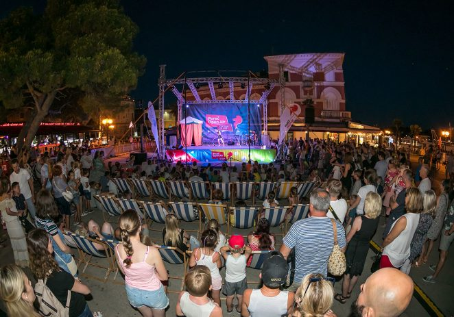 Novi tjedan na Poreč Open Air Festivalu uz 3D video mapping, Open Air cinema i Circus u gradu