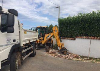 Započeli radovi na dogradnji i rekonstrukciji dijela javne rasvjete u naseljima na području mjesnih odbora Baderna i Žbandaj