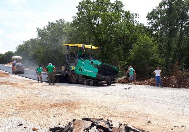 Završena asfaltiranja u Cancinima, Ladrovićima i Stanciji Vergotini