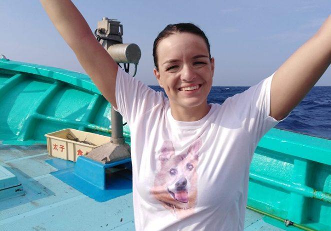 Dina Levačić preplivala 31 km širok kanal Tsugaru u Japanu !