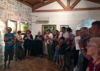 U Funtani otvorena izložba Priče o snovima u Istri – Naiva u Funtani