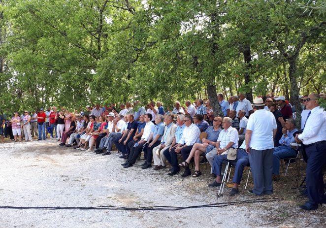 Svečano obilježena 76. obljetnica odlaska u partizane na Rušnjaku