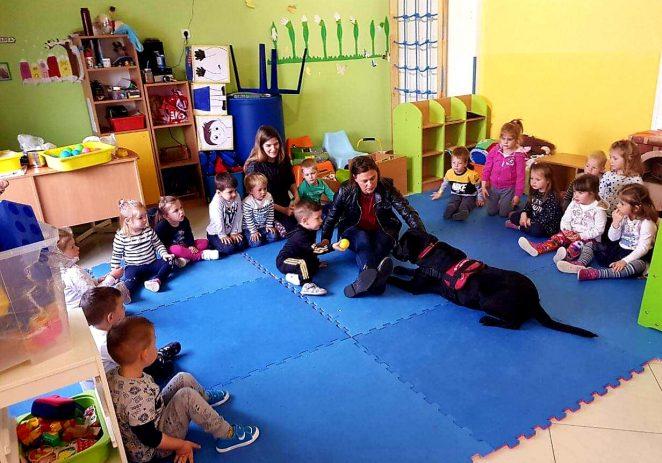 Porečki vrtić 101 Dalmatinac bogatiji za novog člana – terapijskog psa