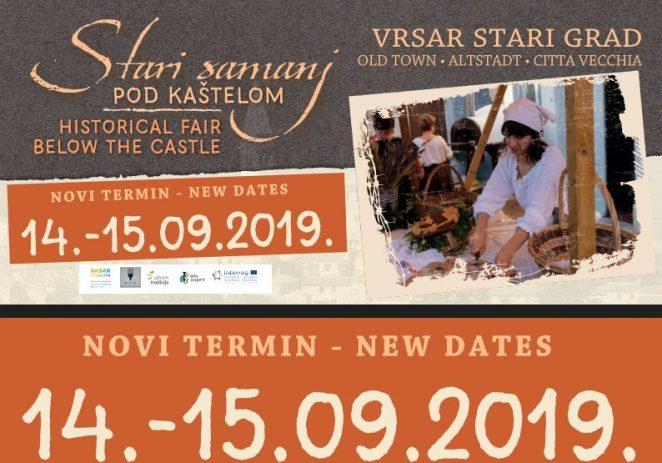 Odgođen Stari samanj i Rock&blues festival u Vrsaru