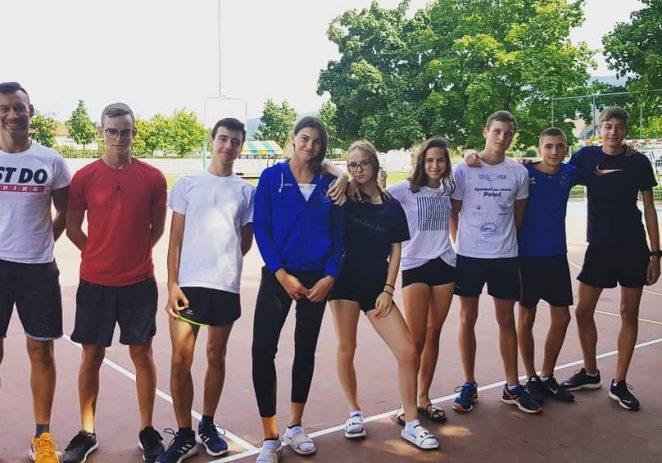 Porečki atletičari AK Maximvs-a sudjelovali na mitinzima i pripremama u Sloveniji