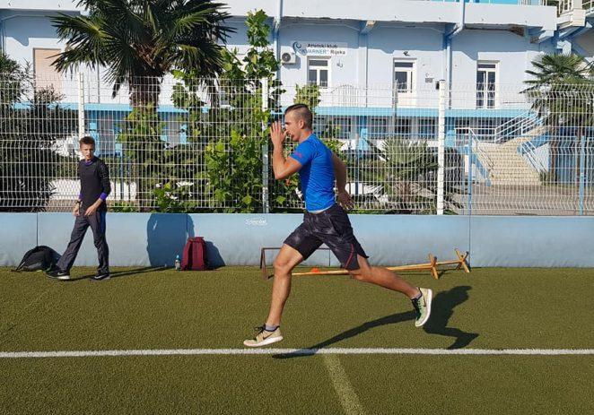 Mario Užila iz atletskog kluba Maximvs Poreč ostvario odličan nastup na Državnom prvenstvu za mlađe seniore