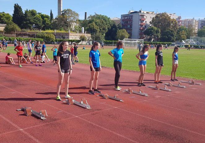 Izvrstan nastup porečkih atletičara na Otvorenom prvenstvu Istre za mlađe uzraste