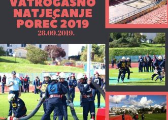 U Poreču 28. rujna XIII. Natjecanje vatrogasne mladeži i pomlatka i VII. Natjecanje vatrogasaca Istarske županije