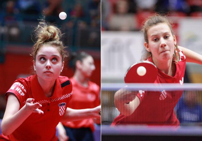 Marta Jurčević i Klara Bardač iz STK Vrsar nastupile za juniorsku reprezentaciju Hrvatske