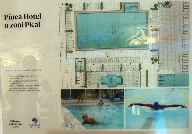 Građevinska dozvola – Valamar Riviera d.d. građevina športsko-rekreacijske namjene bazen Pical