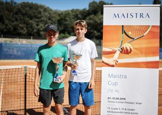 Mladi Slovenci uzeli sva četiri naslova na teniskom turniru Maistra Cup