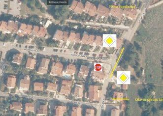 Od petka, 4. listopada nova prometna regulacija na raskrižju Vrsarske i Motovunske ulice
