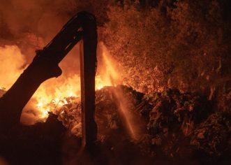 U Puli veliki požar na odlagalištu otpada – Od podneva se zrak značajno očistio