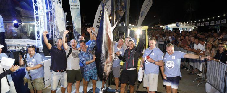 Pobjednička ekipa prvog plovnog dana_Manuel Paljuh