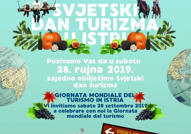 Obilježavanje Svjetskog dana turizma 2019. u Istri u subotu, 28. rujna