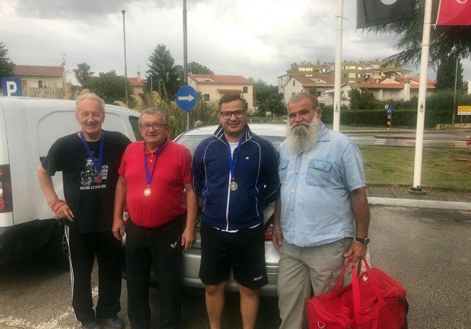 Stolnotenisači STK Jadran Poreč nastupili na stolnoteniskom turnir u Buzetu