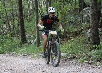 Diego Žužić iz biciklističkog kluba Poreč 10-ti na XC maratonu u Crikvenici