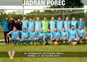Iz NK Jadran: Porečani nastavljaju s prvenstvenim utakmicama