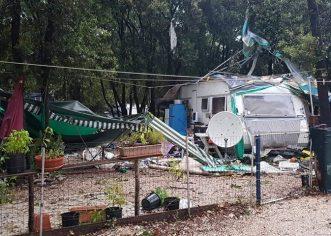 Pijavica noćas u kampu kod Bala, u Rovinju palo čak 68 mm kiše, Poreču 50 mm!