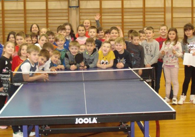 STK Višnjan upisuje djecu 1. i 2. razreda osnovne škole Jože Šuran u školu stolnog tenisa