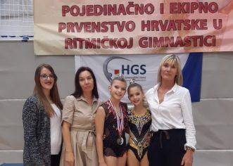 Uspješan nastup porečkih ritmičarki na pojedinačnom i ekipnom Prvenstvu Hrvatske, Petra Belević na ulazu u reprezentaciju !