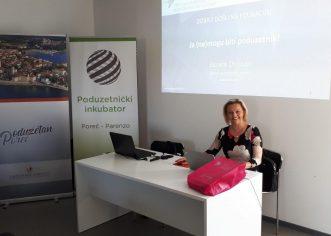 """Besplatna edukacija Poduzetničke akademije za žene: """"Od ideje do realizacije – tko su moji klijenti i kupci"""", Sanela Dropulić, Ženski poduzetnički centar"""