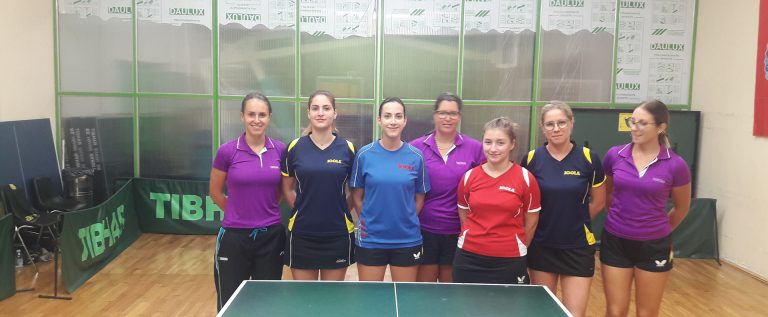 Debitantska utakmica ženske ekipe STK Jadran