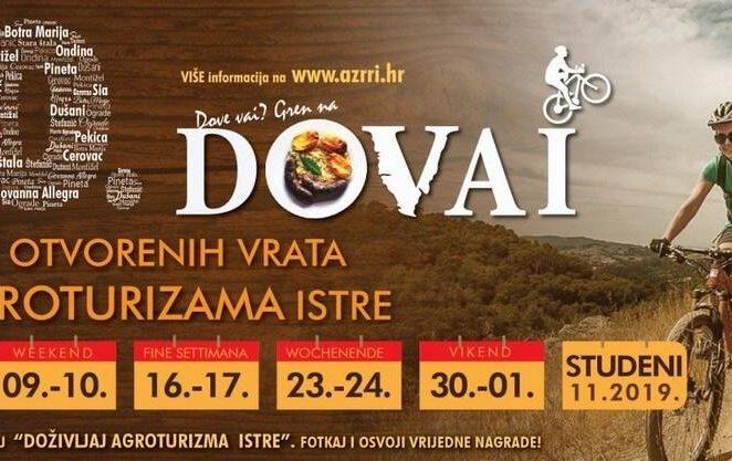 Dani otvorenih vrata agroturizama Istre od 2. do 30. studenog
