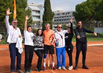 Odigran 3. humanitarni teniski turnir parova Colours of Tennis za novi radiološki uređaj Doma zdravlja u Umagu