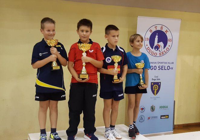 Paolo Pulić  iz Stolnoteniskog kluba Vrsar osvojio 1. mjesto u Dugom Selu