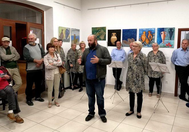 """U prostorima LUP-a u Galiji otvorena je izložba """"Amfore Lorona"""""""