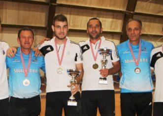 Istarski boćari osvojili četiri medalje na dva seniorska Prvenstva Hrvatske !