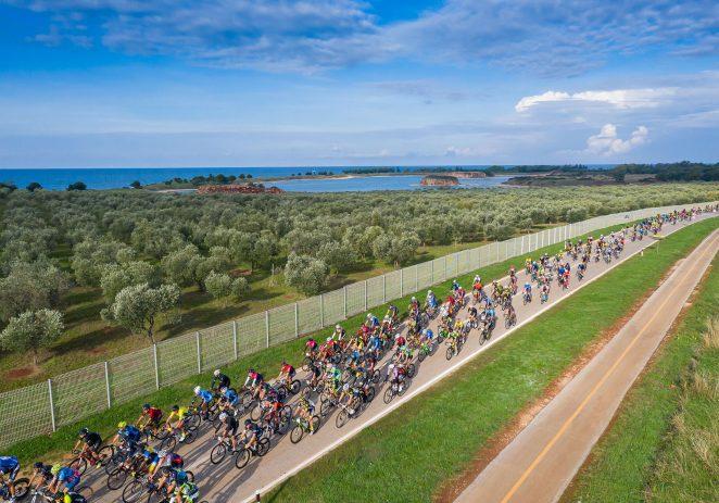 Rekreativni cestovni biciklistički maraton Istria Granfondo uz 700-tinjak biciklista iz 15 zemalja