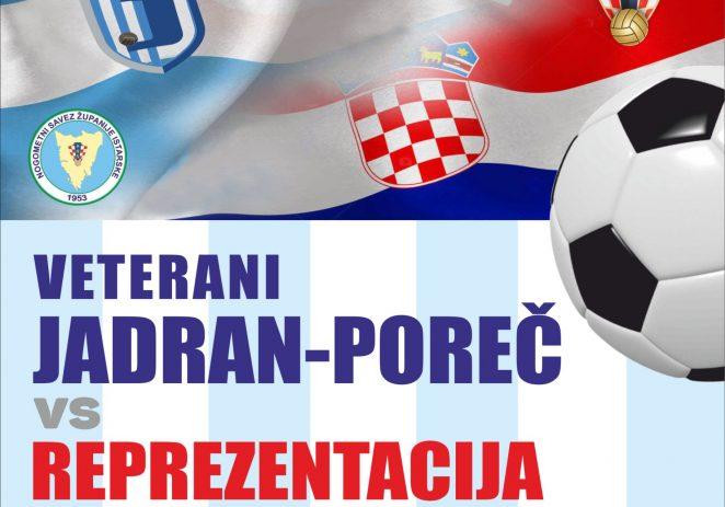 U utorak, 8. listopada veterani NK Jadran igraju prijateljsku utakmicu sa Selekcijom veterana HNS-a