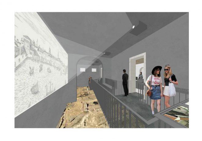 Nakon zahtjevne sanacije temelja i krovišta, u Zavičajnom muzeju Poreštine počela sanacija međukatnih konstrukcija