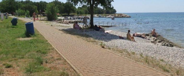 Plaža Materada Sv. Martin 1