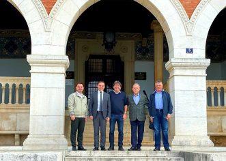 Prijem u gradskoj upravi Grada Poreča  za njemačku delegaciju prijateljskog grada Poinga