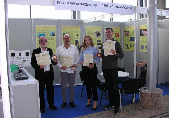 3 zlatne medalje i 4 brončane medalje istarskim inovatorima na Međunarodnoj izložbi inovacija ARCA u  Zagrebu