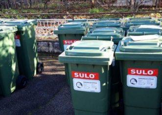 Na području Lovreča i Višnjana Usluga Poreč nastavlja sa podjelom spremnika za miješani komunalni otpad