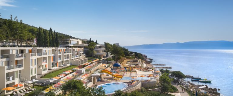 Valamar Girandella Resort_family hotel airview